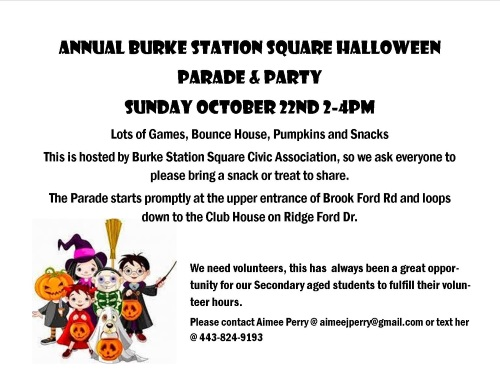 BSCA Annual Halloween Parade