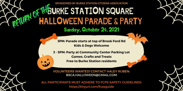 Burke Station Square Halloween Parade & Party