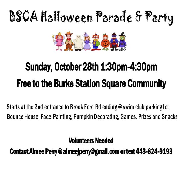 Halloween Parade Flyer